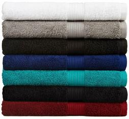 BRAND NEW 6-Piece Fade-Resistant Bath Towel Set