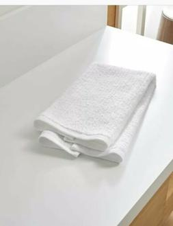BRAND NEW UNUSED 24 PC WHITE 16x27 HAND TOWELS FOR HOTEL RES