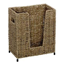 "Hoffmaster BSK3050 Large Seagrass Basket, 11"" Height, 5.75"""