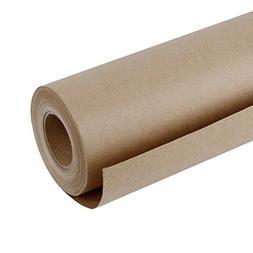 RUSPEPA Brown Kraft Paper Roll - 18 inch x 165 Feet - Natura