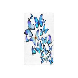 New Arrival! Butterflies Butterfly Soft Face Towel,Hand Towe