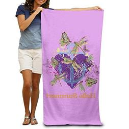 Wecye Butterfly Dragonfly Heart Purple Comfortable Highly Ab
