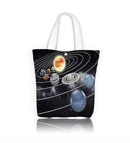 Canvas Tote Handbag Solar system with eight planets Men And