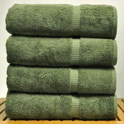 Chakir Linen Dobby Border Turkish Cotton Towel Set  Image 1