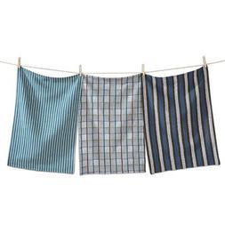 Tag Chevron Striped Cotton Kitchen Dishcloth Towel Set of 3
