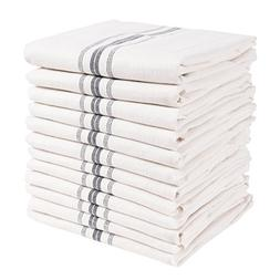classic farmhouse stripe kitchen towels