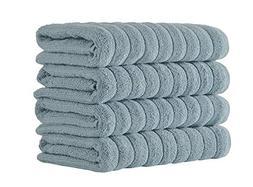 Classic Turkish Towels 4 Piece Luxury Hand Towel Set - 20 x