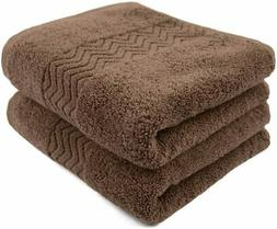 Cleanbear 100% Cotton Hand Towels, Highly Absorbent, Set of