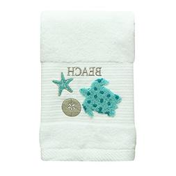 Bacova Guild 48114 Hand Towel, Aqua