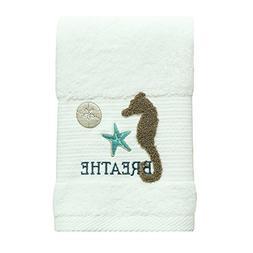 Bacova Guild 48314 Hand Towel, Aqua