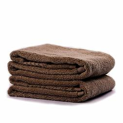 Cleanbear Combed Cotton Hand Towels, Great for Bath, Gym & S