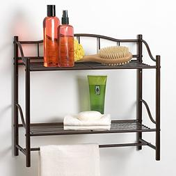 Creative Bath Products 20063-ORB Complete Collection 2 Shelf