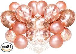 confetti balloons foil