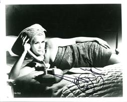 CONNIE STEVENS HAND SIGNED 8x10 PHOTO+COA       YOUNG+SEXY W