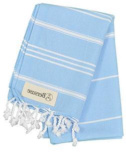 Bersuse 100% Cotton - Anatolia Hand Turkish Towel - Head Hai