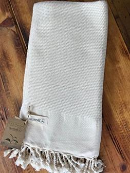 Bersuse 100% Cotton - Ventura Turkish Towel - Bath Beach Fou
