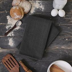 ELEMENTS 100% Cotton - 6 Pack Mini Waffle Kitchen/Tea Towels