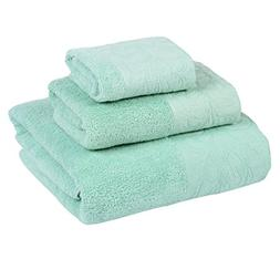 XINTINGHZP Cotton Bath Towel Set includes 1 Bath Towel,1Hand