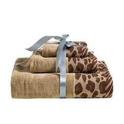 Desun 3 Pack 100% Cotton Premium Bath Towels Set for Bathroo