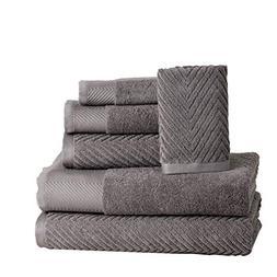 ISABELLA CROMWELL 6 Piece Premium Cotton Bath Towels Set - 2