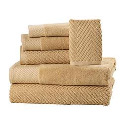 ISABELLA CROMWELL 6 Piece Cotton Bath Towels Set - 2 Bath To