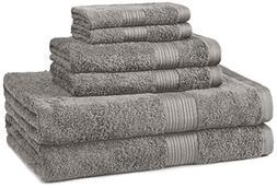 cotton black towel set bath