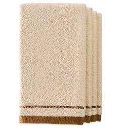 Creative Scents Cotton Fingertip Towels Set - 4 Pack - 11 x