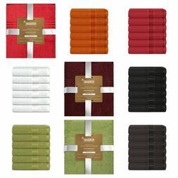 Vibrant Home COTTON HAND TOWELS 16X28 BATHROOM SALON GYM SPA