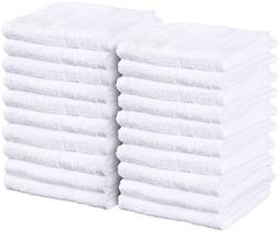 Utopia Towels Cotton Hand Towels - Salon Towels 24-Pack, Whi