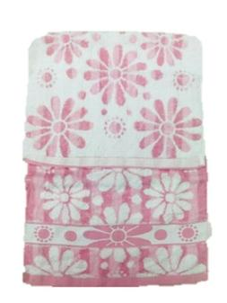 cotton hand towels with sunflower pattern 2