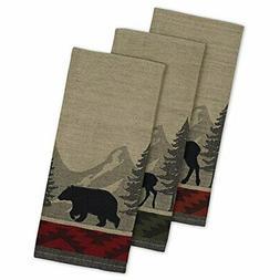 "DII Cotton Jacquard Dish Towels, 20x28"" Set of 3, Decorative"
