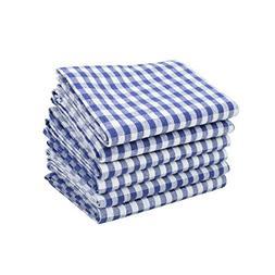 6 Pack of 100% Pure Cotton Kitchen Dish Towels set Machine W