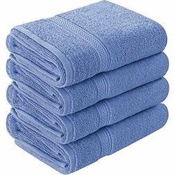 Cotton Large Hand Towels Multipurpose Bath Gym Spa Dark Blue