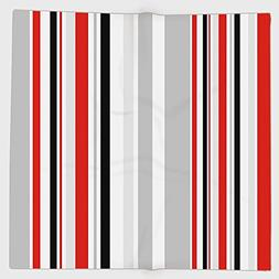 Cotton Microfiber Hand Towel,Vintage,Stripes in Different Si