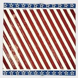 Cotton Microfiber Hand Towel,4th of July Decor,American Pupp