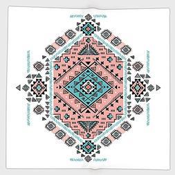 Cotton Microfiber Hand Towel,Tribal Decor,Mexican Native Ame