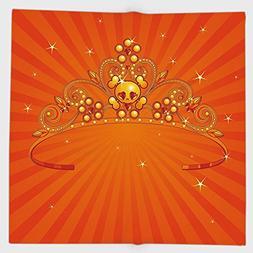 Cotton Microfiber Hand Towel,Queen,Fancy Halloween Princess