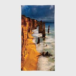iPrint Cotton Microfiber Hotel SPA Beach Pool Bath Hand Towe