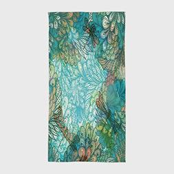 Cotton Microfiber Hotel SPA Beach Pool Bath Hand Towel,Drago