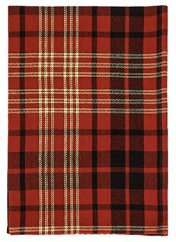 """Traders and Company 100% Cotton Red Black & Yellow Plaid 20"""""""