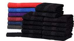 Cotton Salon Towels  - Soft Absorbent Quick Dry Gym-Salon-Sp