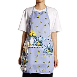 new 100% cotton sleeveless apron with hand towel kitchen apr