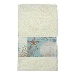 "Bacova Guild ""Coastal Moonlight Cotton Terry Hand Towel"