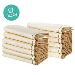 Creative Scents 100% Cotton Velour Fingertip Towel Set  Supe