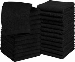 cotton washcloths 12x12 in pack of 24