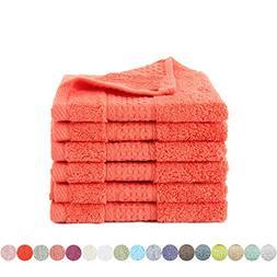 Lotus Karen Hand Towel Set 4011  Cotton 6-Piece towels Rich
