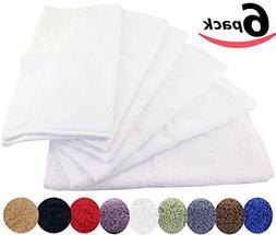 100% Cotton Washcloths Easy Care, Ringspun Cotton for Maximu