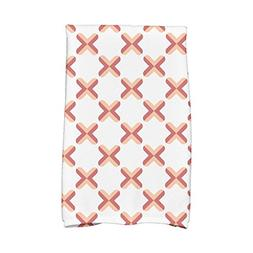 criss cross geometric print hand