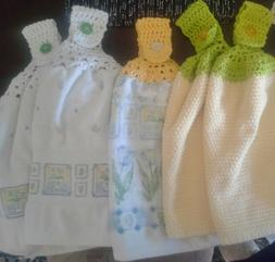 Crochet Pattern for Top Down Kitchen Hand Towels - Pattern o