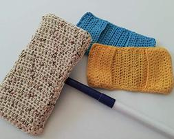 Crochet Reuseable Sweeper Mop Covers